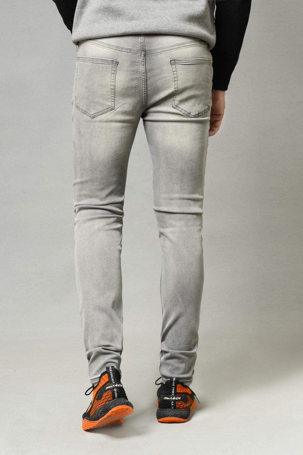 GREY Denim HMDBF20031 - HOPE NOT OUT