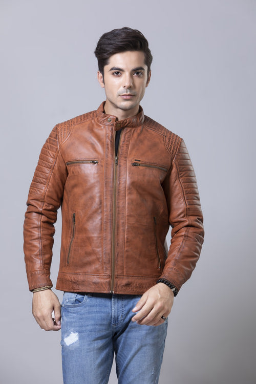 Brown Jacket HMJLF20004