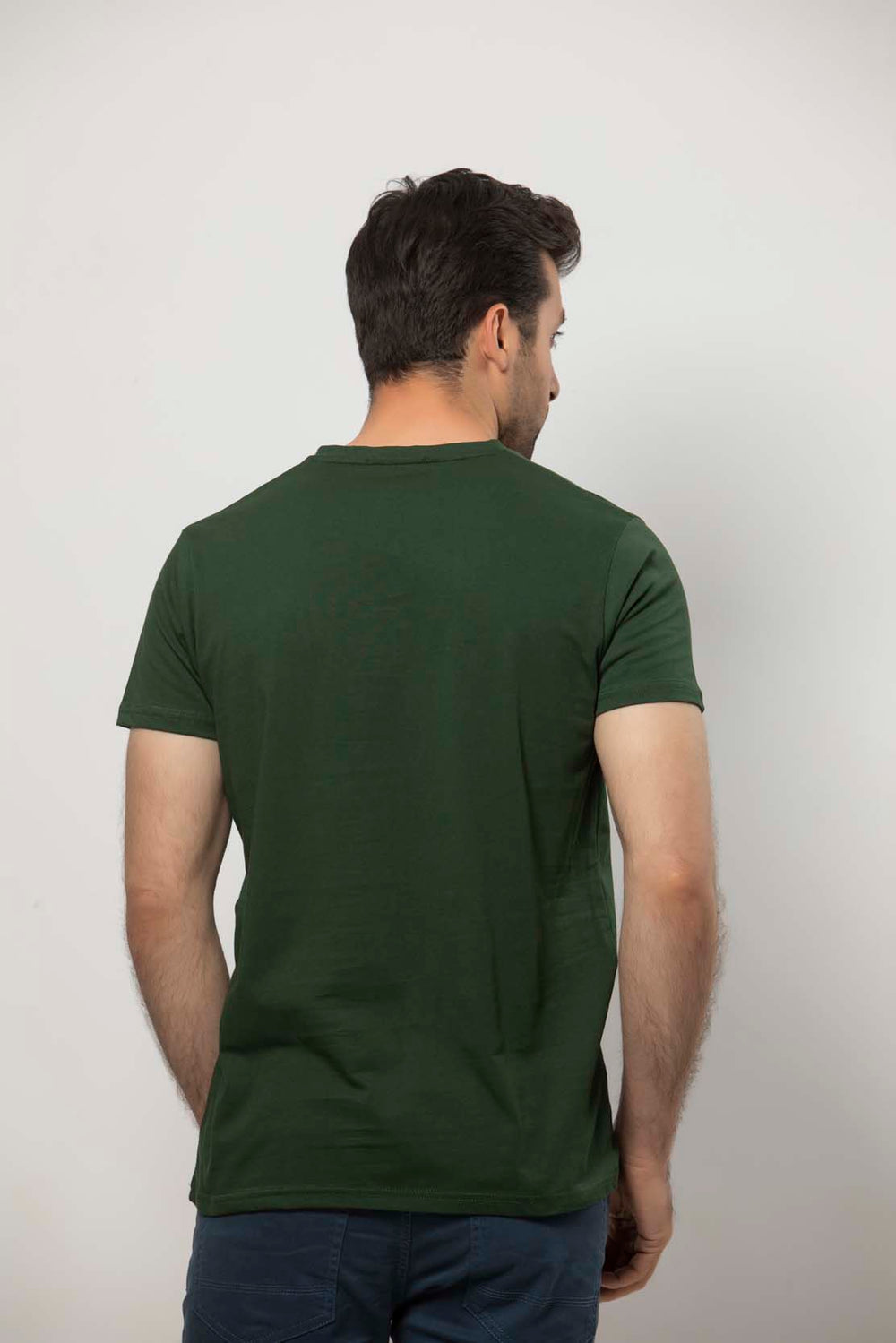 Green T-SHIRT HMKTS20047