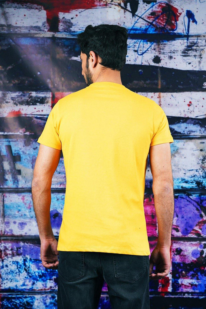 Mustard T-SHIRT HMKTS210006 - HOPE NOT OUT