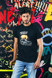 Black T-SHIRT HMKTS210009 - HOPE NOT OUT