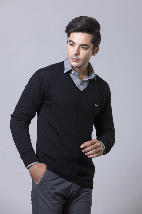 Black Sweater HMSCF20004