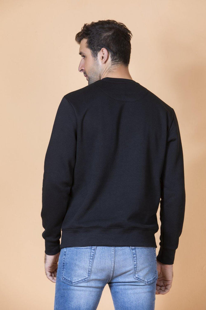 Black Sweat Shirt HMSSF20001 - HOPE NOT OUT