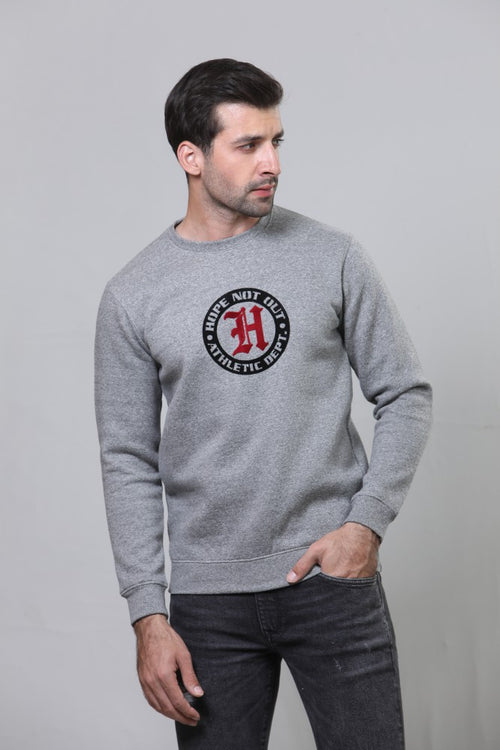 Grey Sweat Shirt HMSSF20020