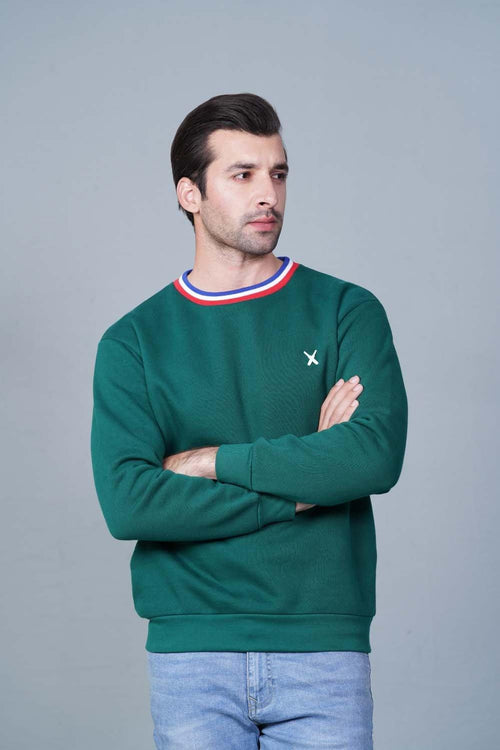GREEN Sweatshirt HMSSF20202