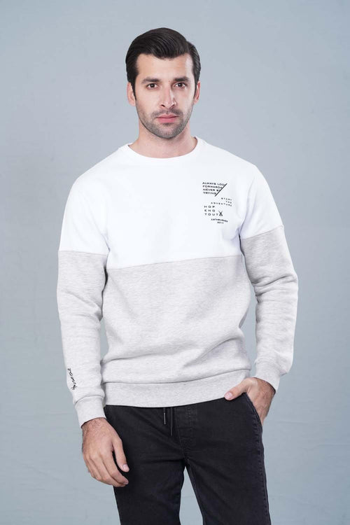 WHITE Sweatshirt HMSSF20203