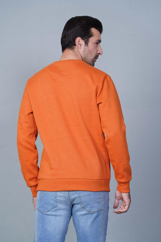 RUST Sweatshirt HMSSF20204 - HOPE NOT OUT
