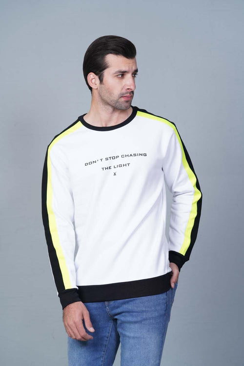 WHITE Sweatshirt HMSSF20209