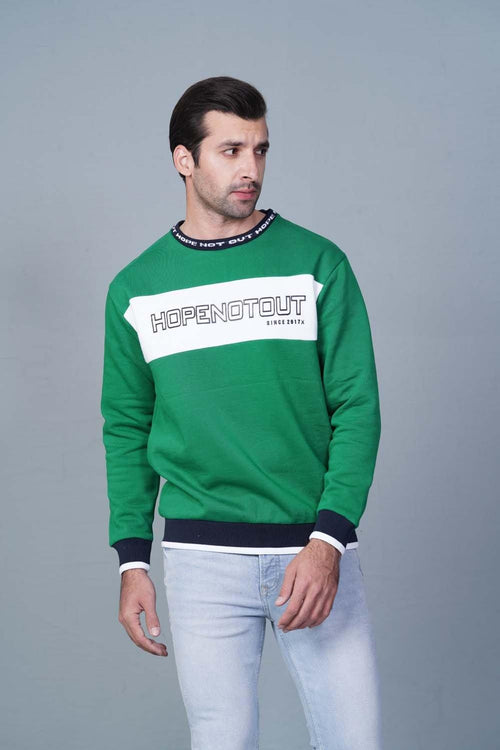 GREEN Sweatshirt HMSSF20214