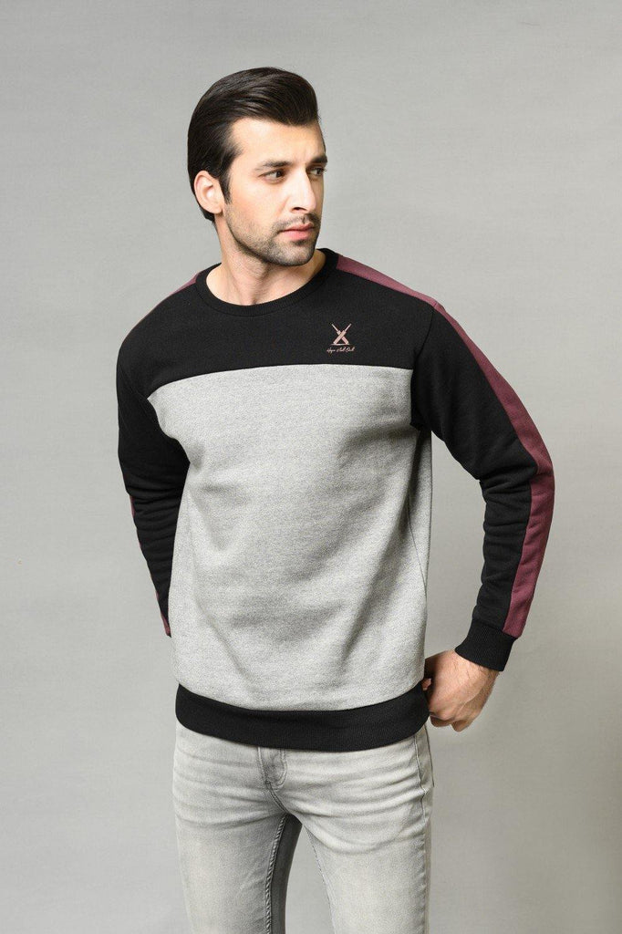 GREY Sweat Shirt HMSSF20304