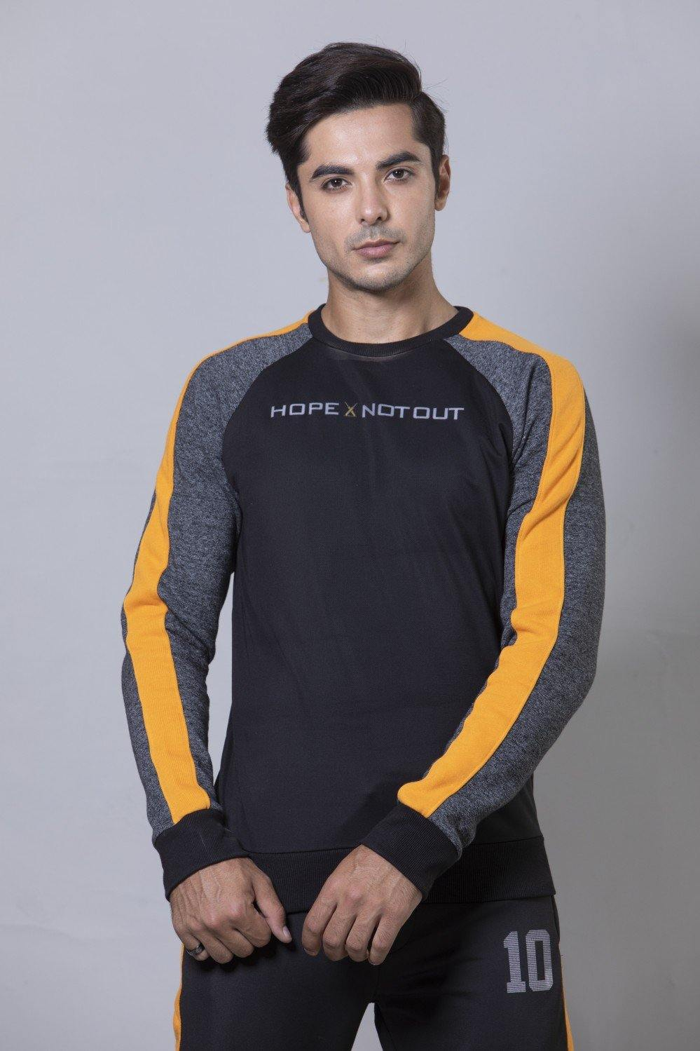 Black Athleisure Set HMTSF20004 - HOPE NOT OUT