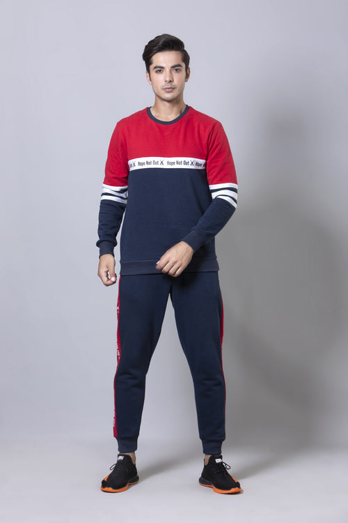 Red Athleisure Set HMTSF20010