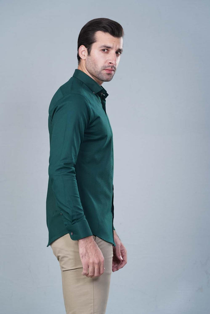 Green Casual shirt HMWSF20018
