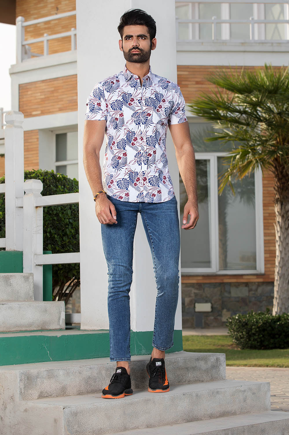 Hawaiian Printed Shirt - HOPE NOT OUT
