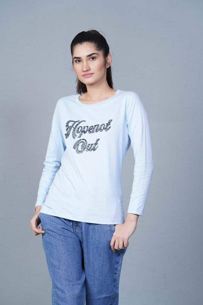 Light blue T-Shirt HWKTF20027