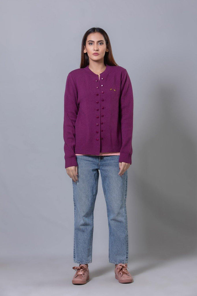 Purple Sweater HWSCF20004
