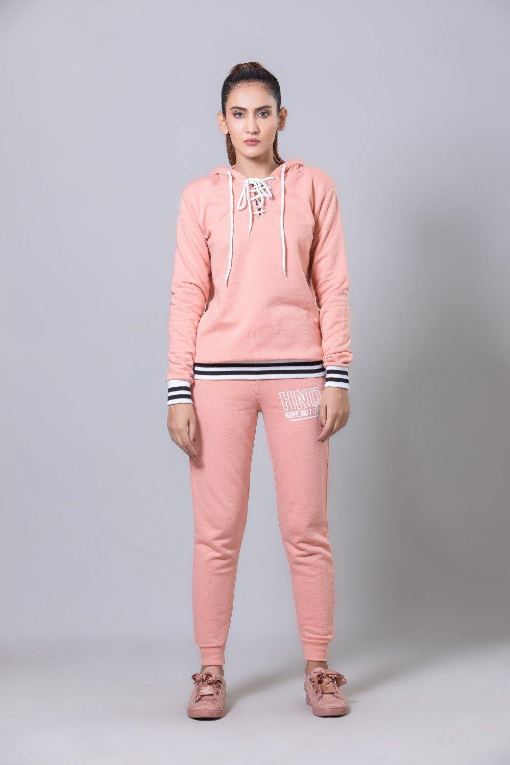 Pink Athleisure Set HWTSF20057 - HOPE NOT OUT