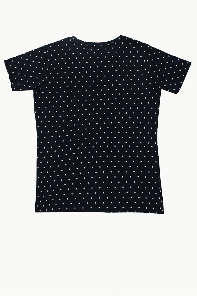 Polka Dot Tee - HOPE NOT OUT