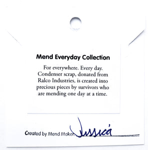 Oval Necklace - Mend Everyday Collection