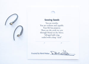 Sowing Seeds Earrings