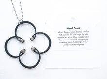 Load image into Gallery viewer, Mend Cross Necklace