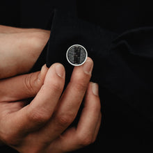 Load image into Gallery viewer, For Him Black Cuff Links