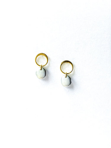 Oval Dangle Posts - Mend Everyday Collection