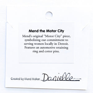 Mend the Motor City Necklace