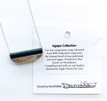 Load image into Gallery viewer, Agape Single Bar Necklace