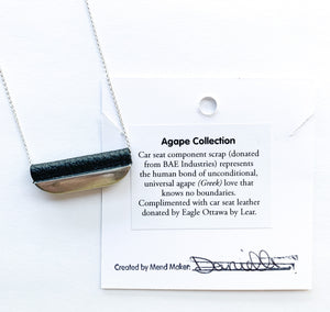 Agape Single Bar Necklace