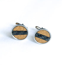 Load image into Gallery viewer, For Him Camel Cuff Links