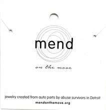 Load image into Gallery viewer, DIY with Mend - Windows Necklace