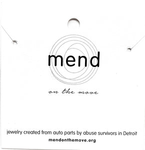 DIY with Mend - Windows Necklace