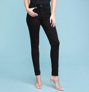 Judy Blue Non Distressed Black Skinnies