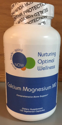 CALCIUM MAGNESIUM MD (120 vegetarian caps) Nurturing Optimal Wellness