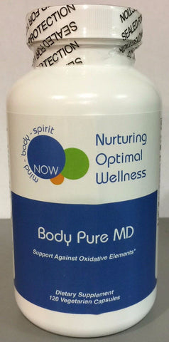 BODY PURE MD (120 vegetarian caps) Nurturing Optimal Wellness