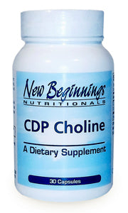 CDP Choline (30 Caps) New Beginnings Nutritionals