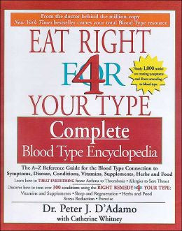 (Book) Eat Right For Your Blood Type
