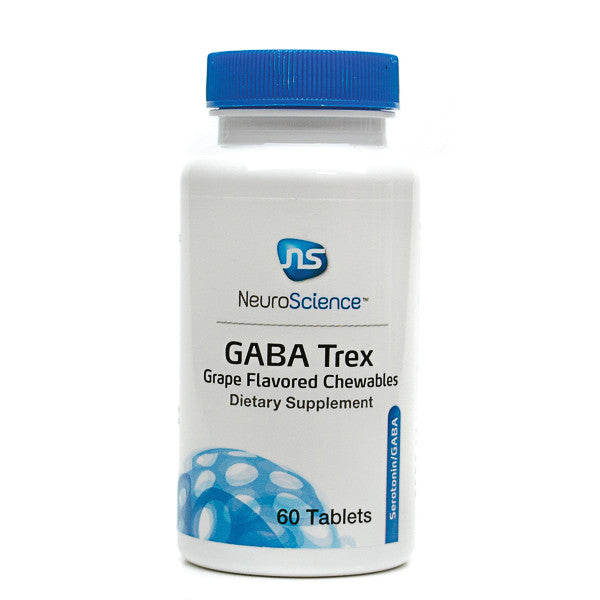 GABA TREX, Grape Flavor (60 tablets) NeuroScience