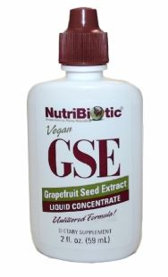 GRAPEFRUIT SEED EXTRACT Nutribiotic® GSE Liquid Concentrate