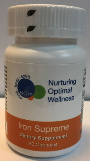 IRON SUPREME (60 capsules) Nurturing Optimal Wellness
