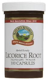LICORICE ROOT (100 capsules)