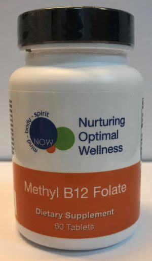 METHYL B12 FOLATE (60 tablets) Nurturing Optimal Wellness