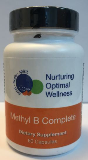 METHYL B COMPLETE (60 tablets) Nurturing Optimal Wellness