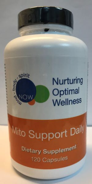 MITO SUPPORT DAILY (120 capsules) Nurturing Optimal Wellness