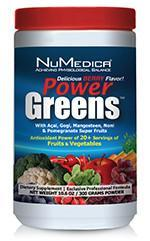 POWER GREENS, Berry (30 servings) Nu Medica