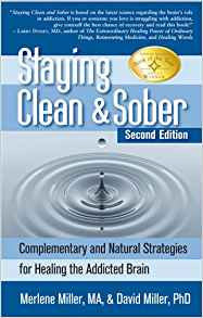 (Book) Staying Clean and Sober, Merlene Miller, MA and David Miller, PhD