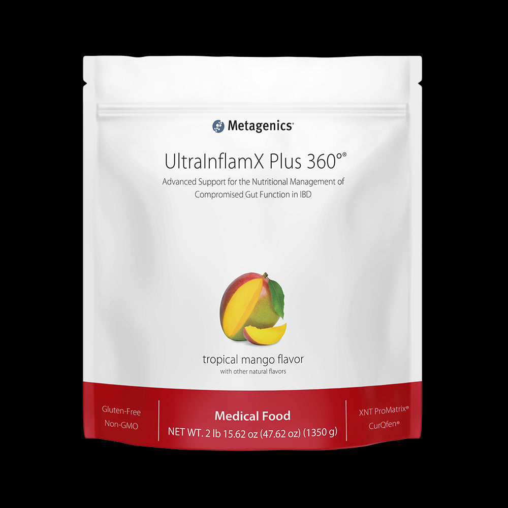 ULTRAINFLAMX PLUS 360 TROPICAL MANGO (14 servings) Metagenics