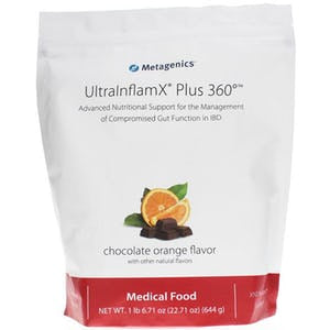 ULTRAINFLAMX PLUS 360 CHOCOLATE-ORANGE (14 servings) Metagenics