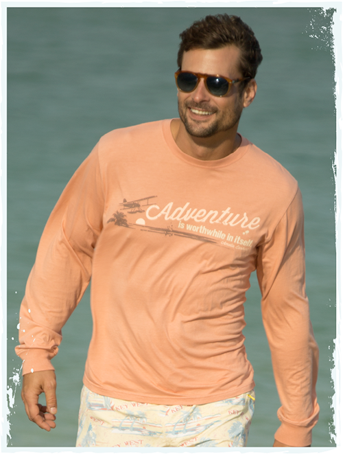 Adventure long-sleeve tshirt
